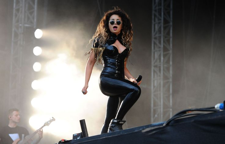 Ella Eyre performs at V Festival at Weston Park
