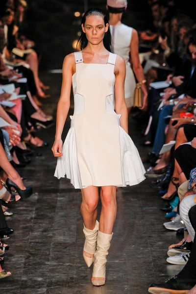 See the complete Victoria Beckham Spring 2012 Ready-to-Wear collection.