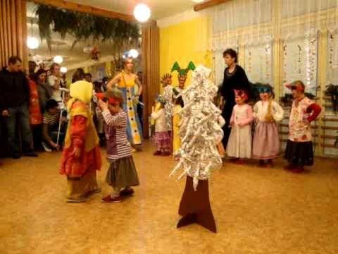 MŠ vánoční besídka pohádka Mrazík NASTĚNKY