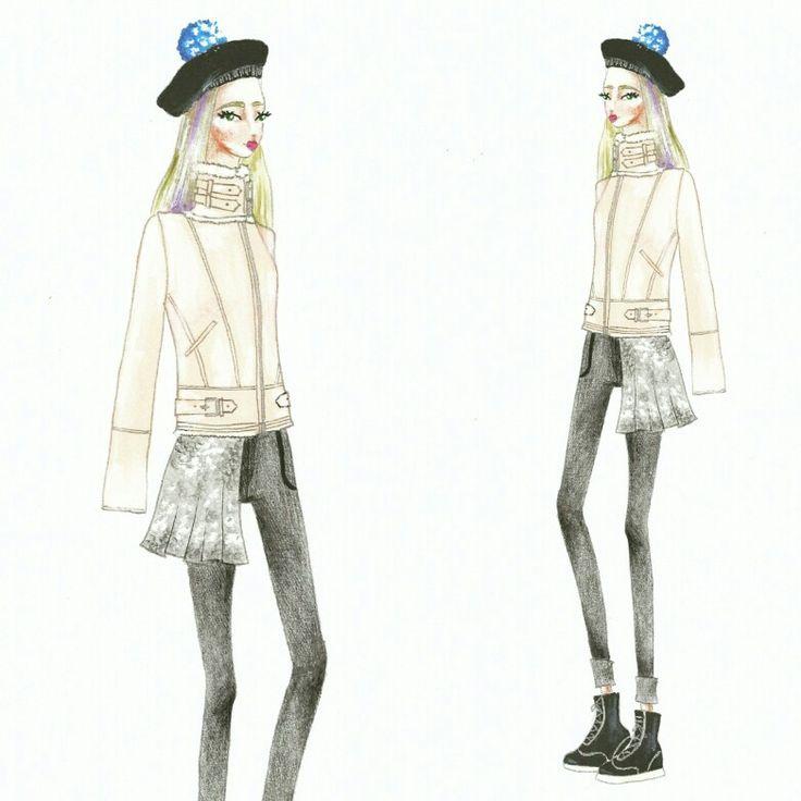 Wonderland (16) Fashion sketch