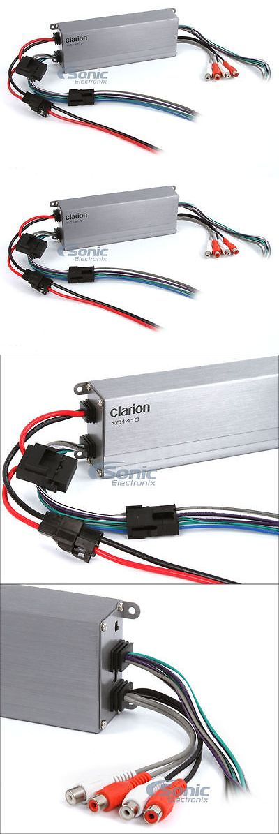 Car Amplifiers: Clarion Xc1410 300W Rms 4-Channel Xc Series Micro Class D Car Amplifier -> BUY IT NOW ONLY: $119.99 on eBay!