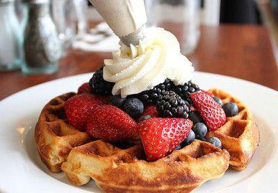 Strawberry &  Berry  Waffle
