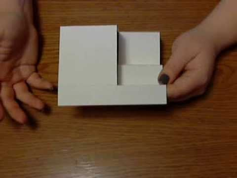 A video tutorial on how to create a side step folded card. Made for the Technique Time Tuesday challenge blog for April 2014's monthly challenge.