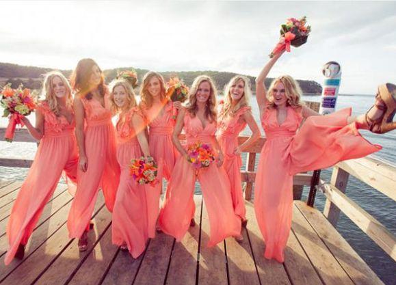 braidsmaids, wedding, jumpsuit, dress