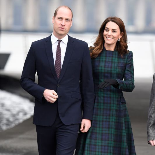 Kate Middleton Just Stepped Out in Scotland Wearing a Gorgeous Plaid Coat