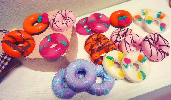 FREE SHIPPING  50 Doughnut Soap Baby Shower by AliceInWonderSpa