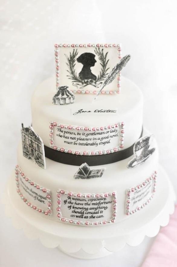 Jane. Austen. Cake.