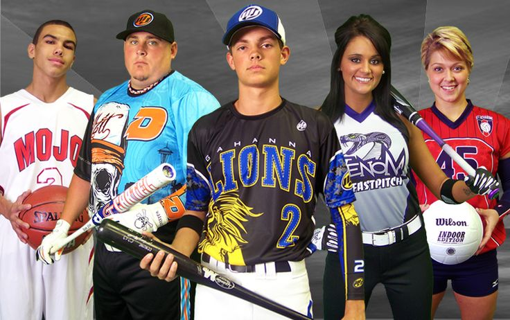 Mojo Sports Gear Home Page Featuring Slowpitch Softball, Fastpitch Softball and Custom Full Dye Sublimated Jerseys and Team Uniforms