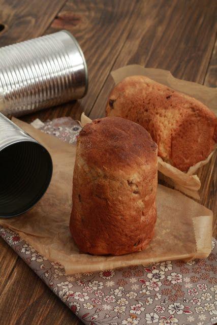 Ondinecheznanou.blogspot.com | Pannetone individuel à offrir, cuit dans une boite de conserve |       J'ai tout de suite flashé dans mon journal de cuisine Delicious sur cette recette tant sur...