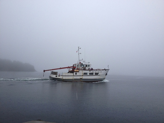 Tancook Ferry leaving the Island