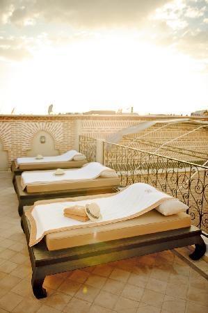 Sun terrace, Marrakech