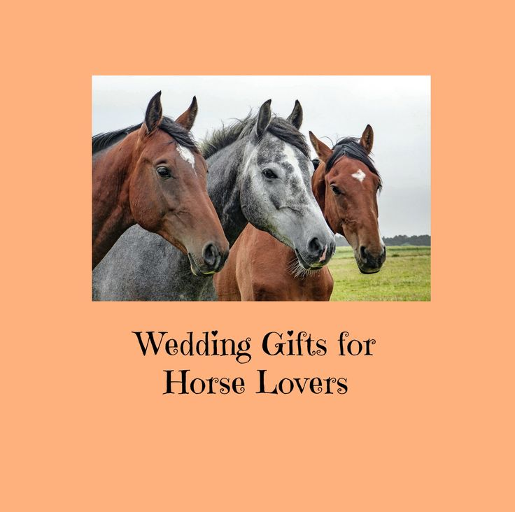 Looking for wedding gifts for horse lovers? Find them here, ready to order. Find a great gift, order easily and have it delivered in a timely manner.