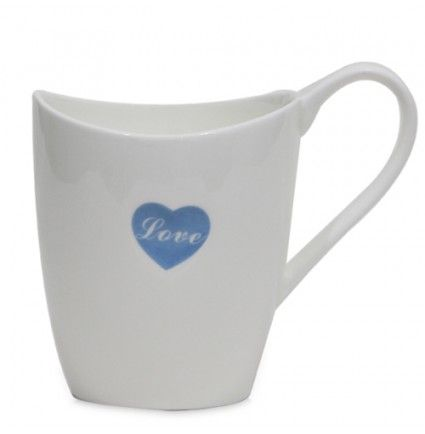 Let your love for your favorite coffee be indispensible with this simple mug. You can gift this mug to your dear one which will say that you adore and love them. Made up of ceramic, this mug 3 X 3.6 inches in size is durable enough with a stiff handle.
