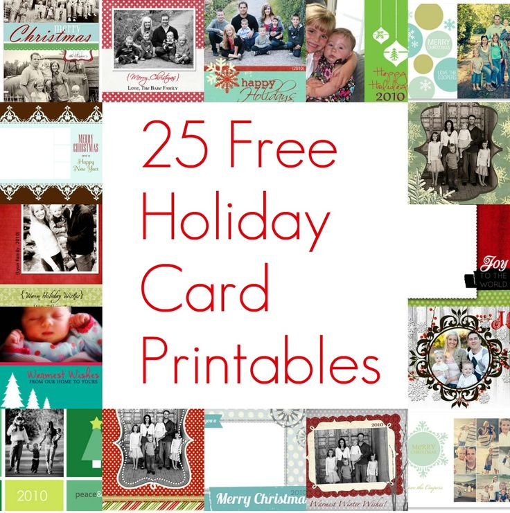 free printable christmas cards posted by holiday helper on christmas diy freebies