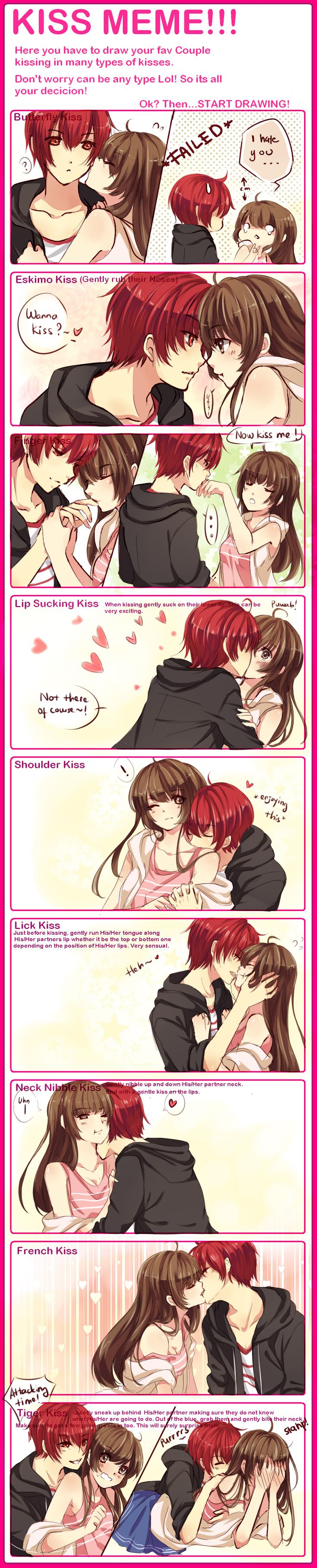 KISS MEME WITH WAIFUUUU by omocha-san.deviantart.com on @deviantART