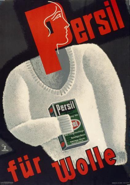 Persil - für Wolle-Plakat