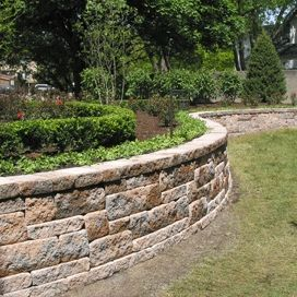 Large Retaining Wall Ideas | retaining wall