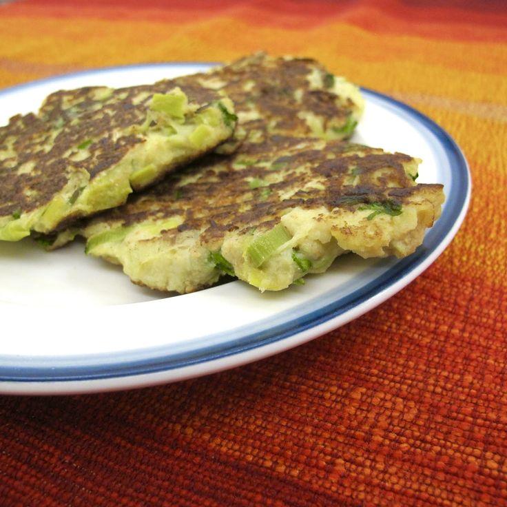 Cozinhar sem Lactose: Panquecas de grão, alho francês e couve-rábano