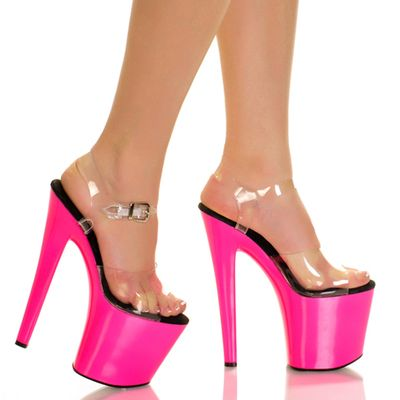Nova chegada 2017 Mulheres Sexy 20 cm de Super Saltos Altos Sandálias de Saltos Finos sapatos de Dança Sapatos de Noiva Casamento Moda Rosa Vermelha sandálias