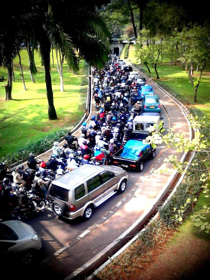 Underpass Semanggi by Akhid Roviyanto