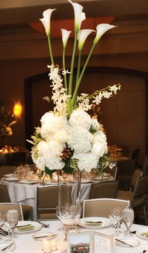 Tall centerpieces