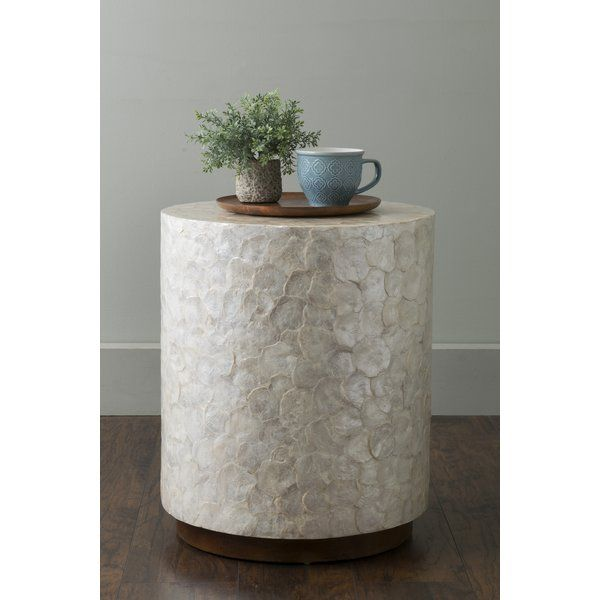 This Dalvey End Table Is Just What You Need To Liven Up Your Living Space Crafted With Mahogany Artisans Here A Round Accent Table East At Main Accent Table