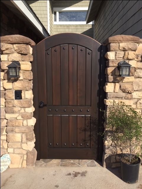 1000+ Images About Premium Wood Gates On Pinterest