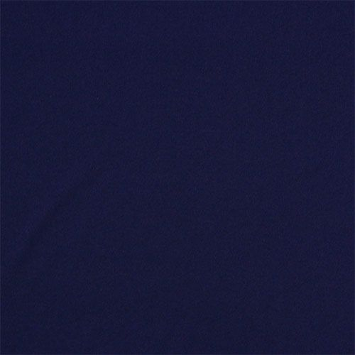 True Navy Blue Solid Cotton Blend Rib Knit Fabric A Charlee Designer Score Top Quality Jersey Spandex Blen