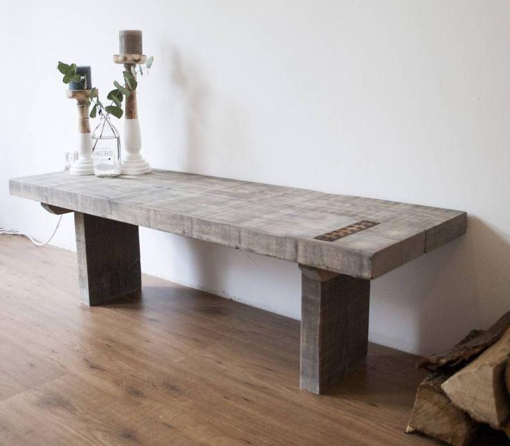 25 beste idee n over rustieke salontafels op pinterest houten meubelen pallet salontafels en - Wat op een salontafel ...