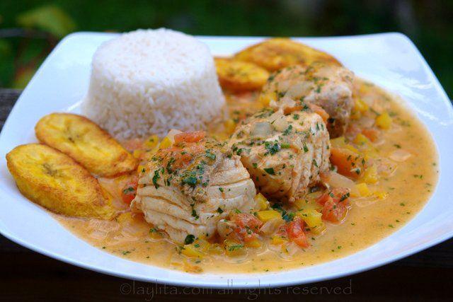 Recette poisson sauce noix de coco