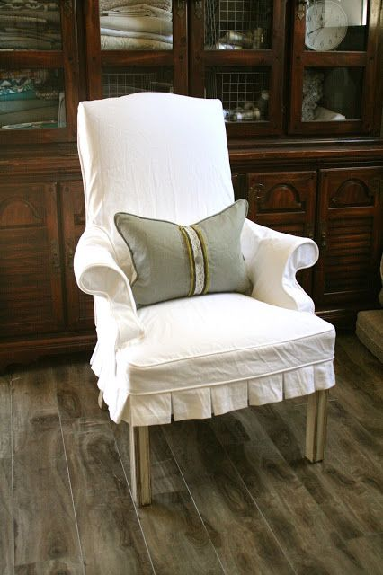 Custom Slipcovers by Shelley: Occasional Chair