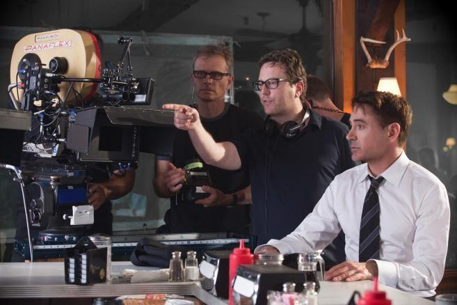 Una foto dal backstage di #TheJudge, il film con #RobertDowneyJr, dal 23 ottobre al cinema.
