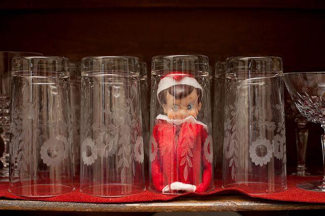 a TON of elf on the shelf ideas!!!!