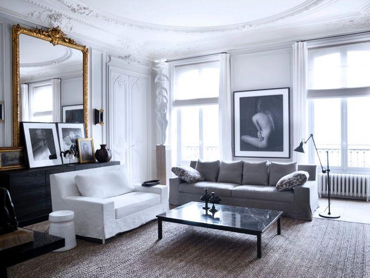 Home Inspiration Ideas - Paris luxury apartments by Gilles Boissier - 21st century home furnishing decor #homeinspirationideas #livingroomset #furnituredesign  / More at http://homeinspirationideas.net/room-inspiration-ideas/home-inspiration-ideas-12-show-stopping-luxury-paris-apartments
