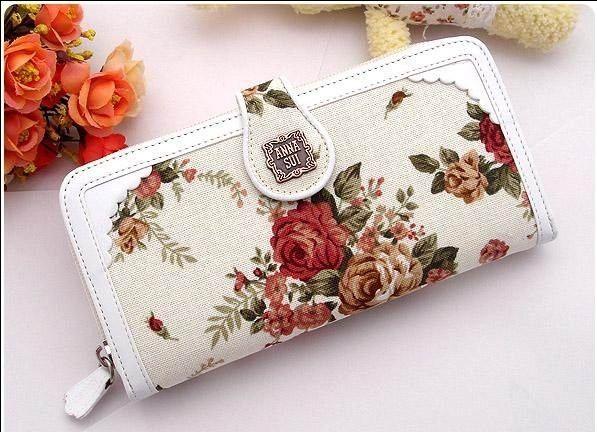Aliexpress.com : Acquista tela di canapa classica ricamo del fiore della rosa donne raccoglitore lungo di disegno della borsa a mano borse da Fornitori portafoglio lungo affidabili su VIVI WORLD.