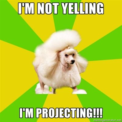 Haha! Technically it's the pretentious theater poodle, but it works for teachers too!