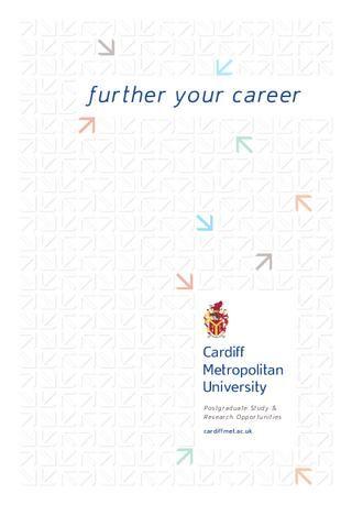 Cardiff Met Postgraduate Prospectus