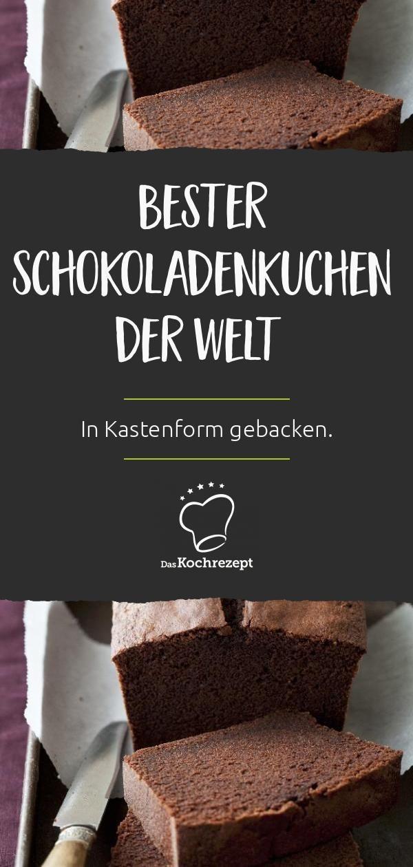 Bester Schokoladenkuchen der Welt in Kastenform
