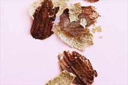 Opskrift på: Sprøde chips af havregrød eller øllebrød