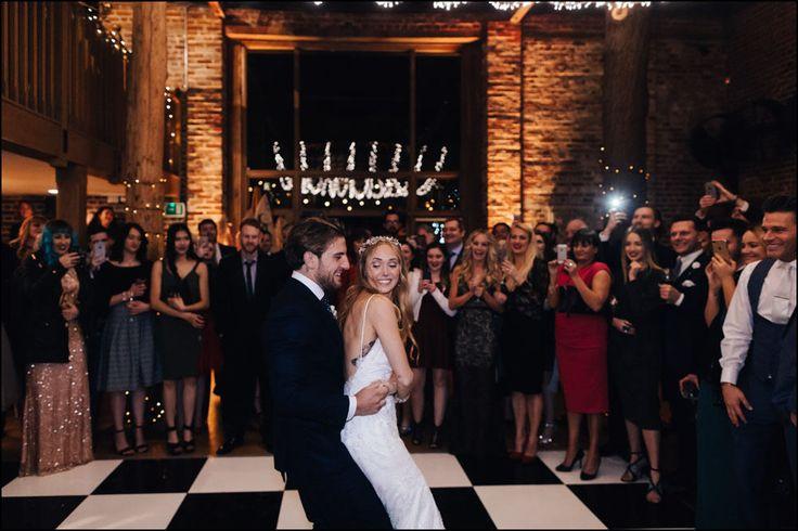 Gaynes Park Wedding Photography by James Fear...