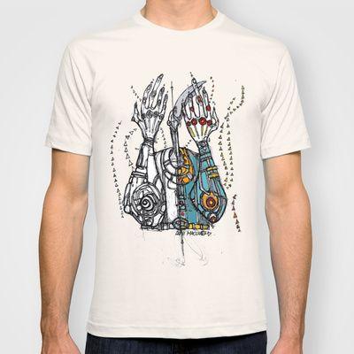 Sketch Noise T-shirt by Maccu Maccu - $18.00