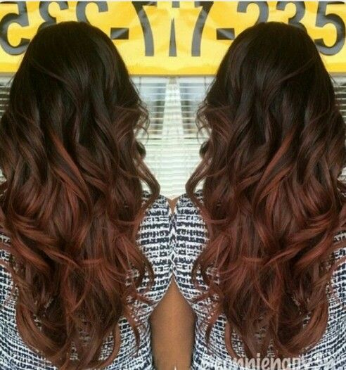 ***Just a thought. If her hairs going to be a two process kinda deal... her hair right now is almost this red color.