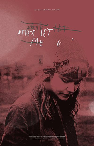 Never Let Me Go 24x36 inch poster