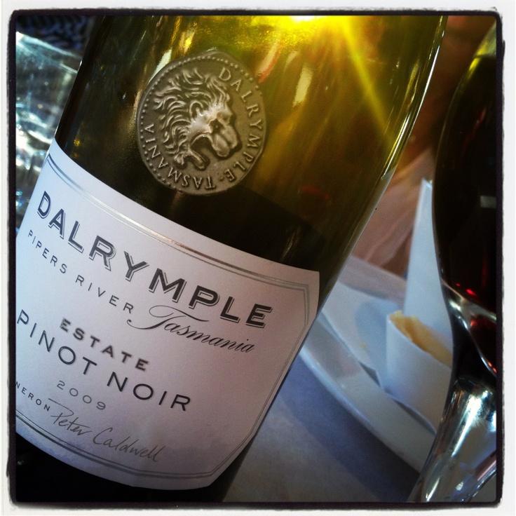 Love this Pinot Noir #wine #tasmania