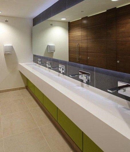 Leading washroom manufacturer, Washroom Washroom, has completed work on a multi-storey office refurbishment in Reading, providing sleek, high specification washrooms on every level.