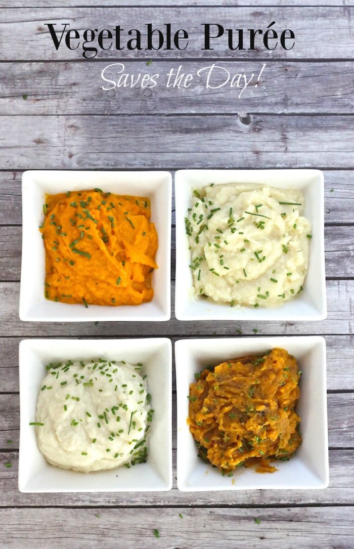 Vegetable Puree Saves the Day! | The Organic Kitchen Blog and Tutorials
