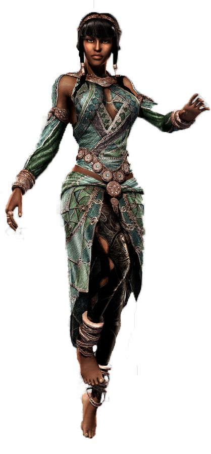 Razia is a protagonist in Prince of Persia: The Forgotten Sands. She is Djinn, the Queen of the...