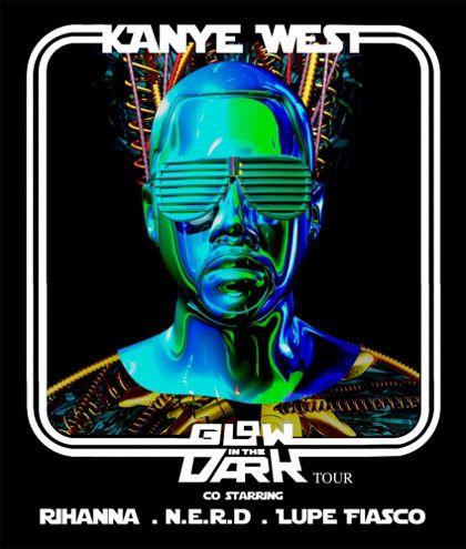 Kanye Glow in the dark