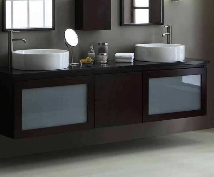 Photo Gallery For Website Floating Bathroom Cabinets BLOX Xylem Modern Floating Bathroom Vanity