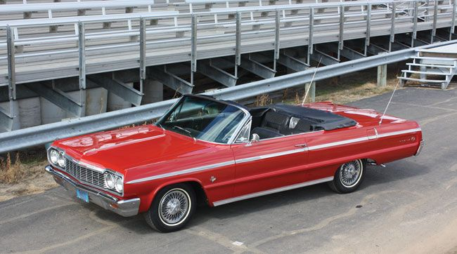 Steve Reinen happily admits to using his long-gone 1964 Chevrolet Impala SS to woo his prospective girlfriend. He has since upgraded his 327 Impala SS convertible to an SS 409, and upgraded Karen from girlfriend to wife